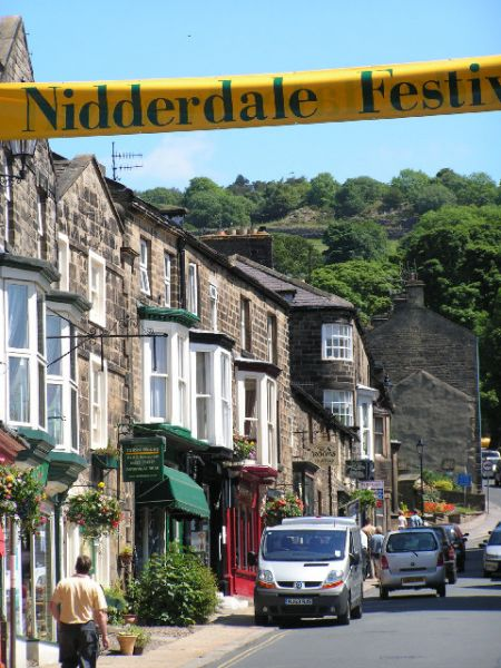 Pateley Bridge photo, High Street during the Nidderdale Festival (c) Sue Jackson