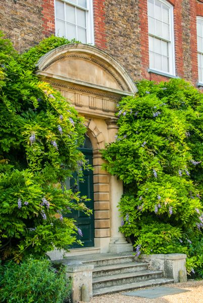 Peckover House photo, The front entrance to Peckover House