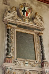 17th century Thomas Trafford memorial