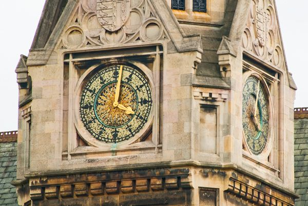 Pembroke College photo, Clock tower
