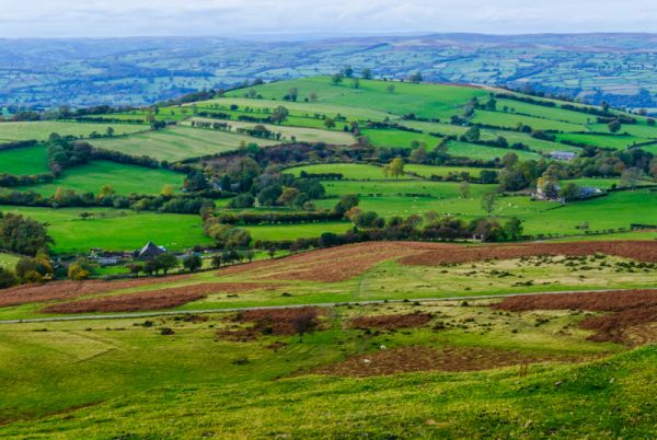 Pen Y Beacon Stone Circle photo, The view from Pen-y-Beacon