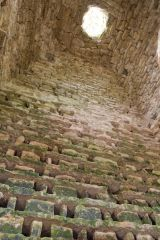 Penmon Priory, Looking up inside the dovecote