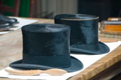 Top hats all-in-a-row!