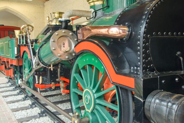 Penrhyn Castle photo, Historic locomotive exhibit