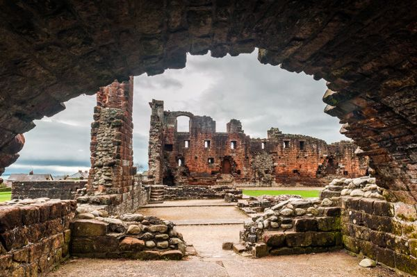 Penrith Castle photo, The view from the base of the Red Tower