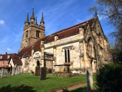 Penshurst parish church (c) tristan forward