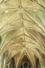 Pershore Abbey, Lierne vaulting detail