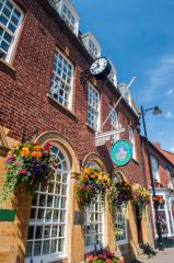 Pershore, The town hall and Heritage Centre museum