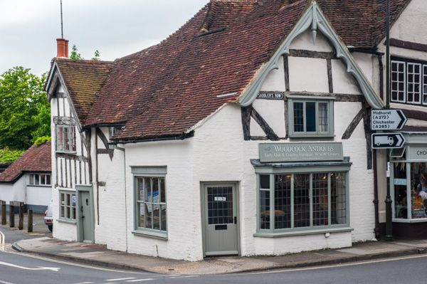 Petworth photo, A timber-framed antque shop