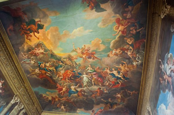 Petworth House photo, The magnificent staircase murals