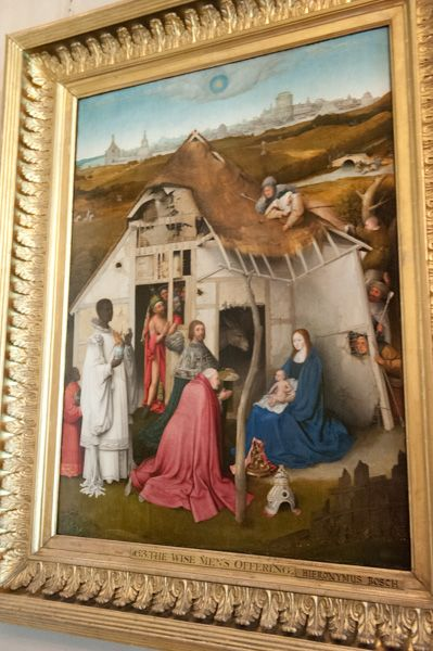 Petworth House photo, Adoration of the Magi by Hieronymus Bosch