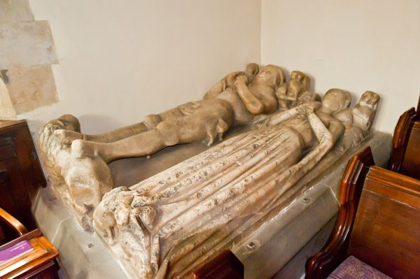Pickering Church photo, Roucliffe tomb
