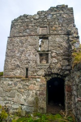 The stair tower