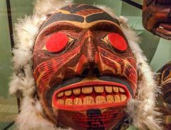 Mask from British Columbia, Canada