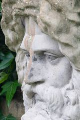 Plas Newydd, Classical statue in the gardens