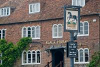Pluckley, Exterior of the Black Horse Inn