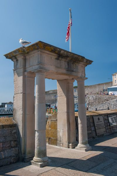 Plymouth photo, The Mayflower Steps