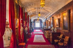 The Jacobean long gallery corridor