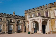 Port Eliot, The front entrance