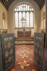 Entering the chancel