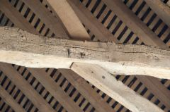 Roof timber detail