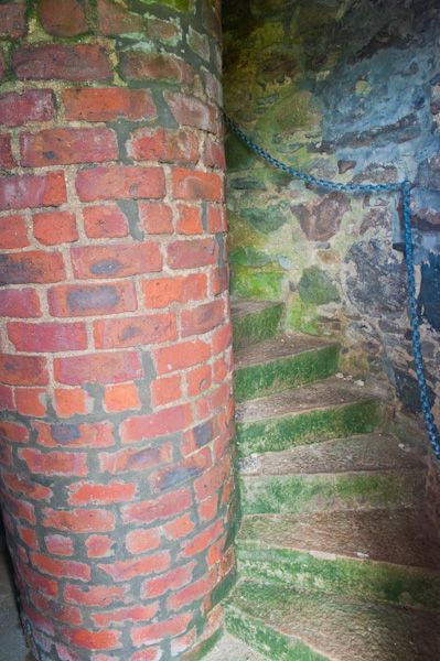Prop of Ythsie photo, Internal staircase