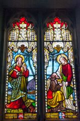 Llewellyn memorial window, c. 1867