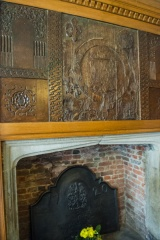 Ground floor parlour fireplace