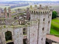 Raglan Castle , The Great Tower