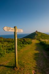Rame Head Chapel, The path to Rame Head