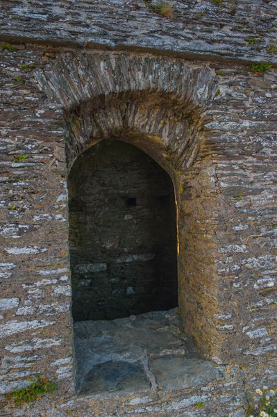 Rame Head Chapel photo, The north doorway arch