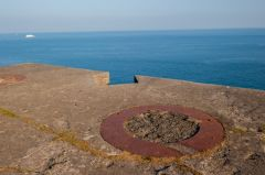 Rame Head Chapel, WWII gun emplacement