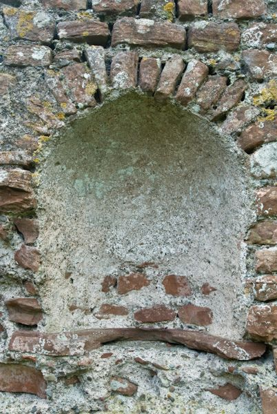 Ravenglass Roman Bath House photo, Niche