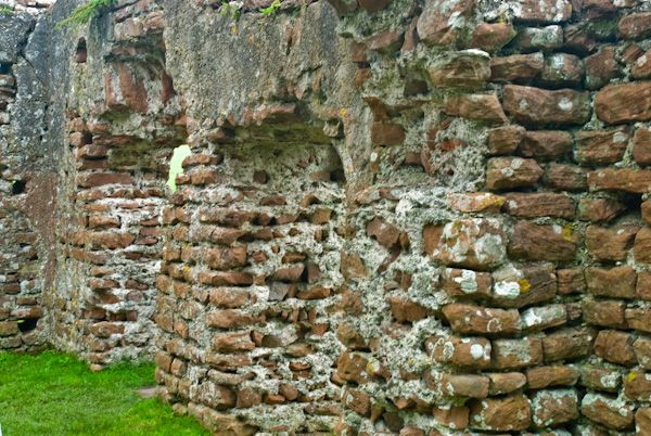 Ravenglass Roman Bath House photo, Doorway arches