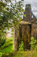 One of James II's circular towers