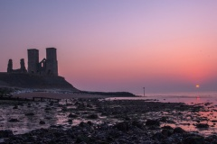 Reculver at sunset