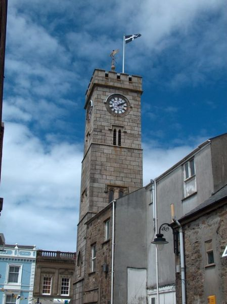 Redruth photo, The Clock Tower (c) Neil Theasby