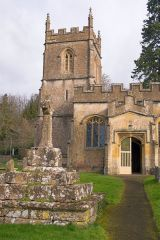 St Peter's church in Rendcomb