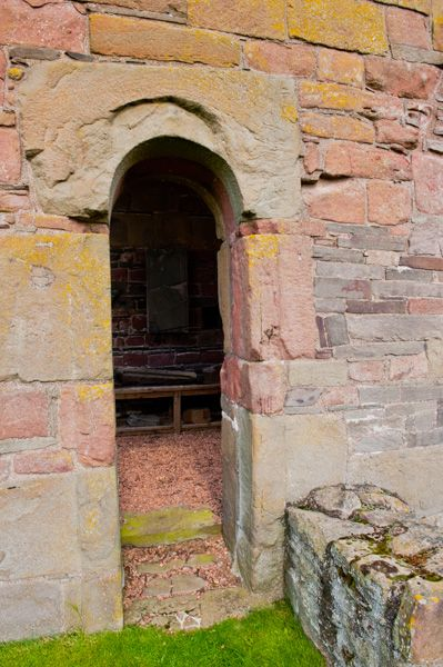 Restenneth Priory photo, An ancient tower doorway