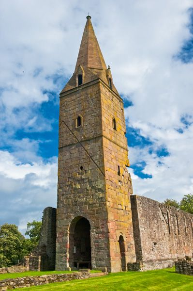 Restenneth Priory photo, The church tower