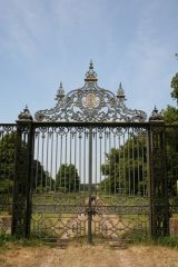 Revesby, Revesby Abbey gates (c) Richard Croft