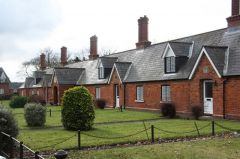 Revesby, Joseph Banks almshouses (c) Richard Croft