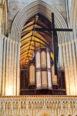The rood and organ loft