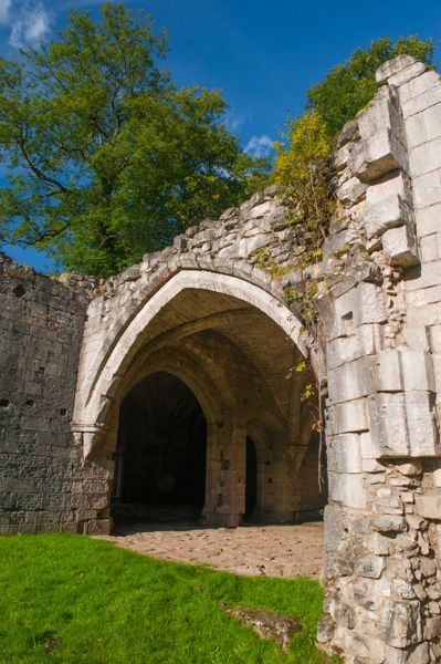 Roche Abbey photo, Medieval gatehouse