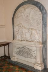 Rockbourne, St Andrew's Church, General Sir Eyre Coote memorial