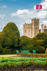 The Elephant Hedge and castle tower