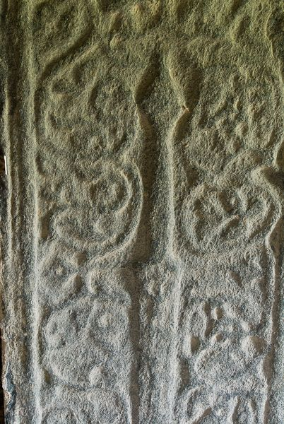 Rodel, St Clements Church photo, Medieval grave slab 2