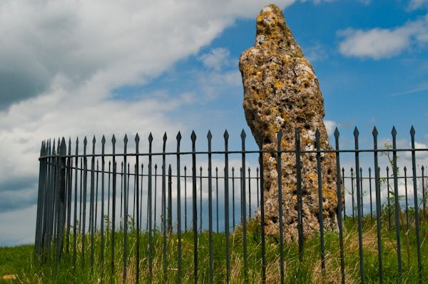 Rollright Stones photo, The King Stone