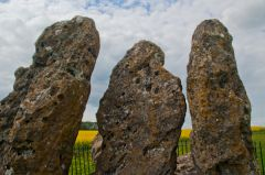 Rollright Stones, Whispering Knights close-up