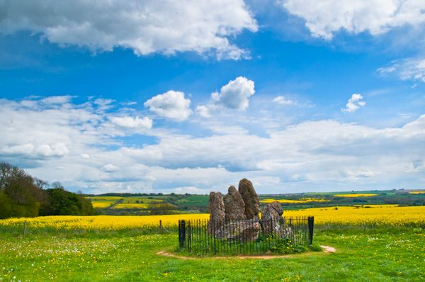 Rollright Stones photo, The Whispering Knights